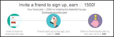 MakeMyTrip से पैसे कमाने का आसान तरीका