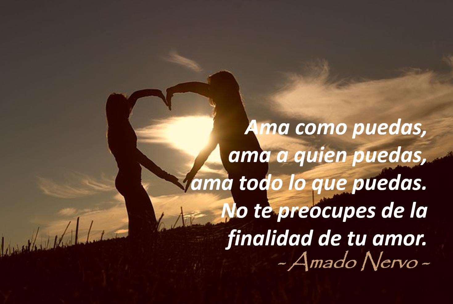Lecciones Para Amar Amado Nervo Llénalo De Amor