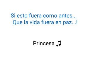 Belinda Princesa significado de la canción.