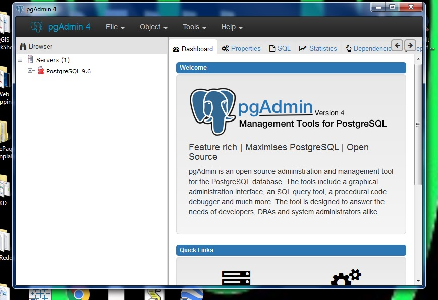 Geospatial Solutions Expert: The new GUI Interface for PostgreSQL
