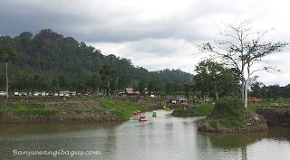 Tour de Ijen Banyuwangi 2016 dimulai di waduk Sidodadi, Glenmore.
