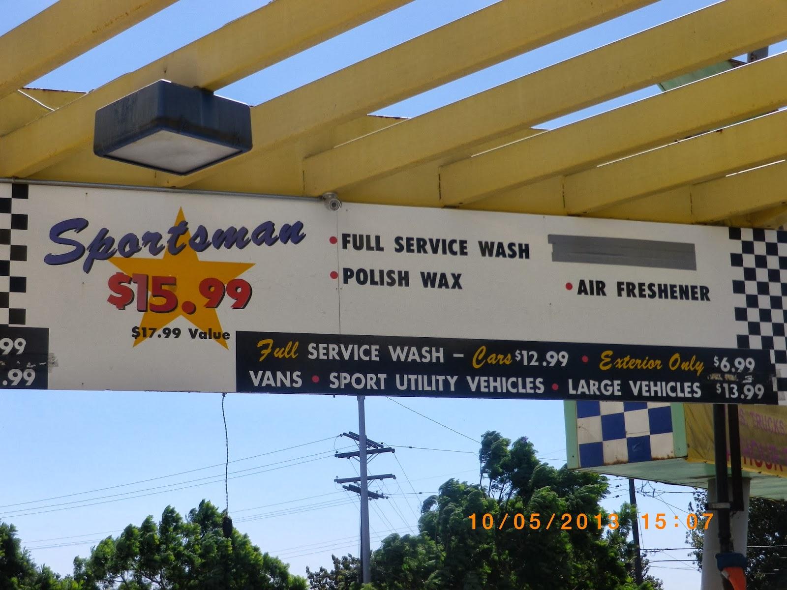 Car Wash San Luis Obispo: VC Menu: Five Points Car Wash