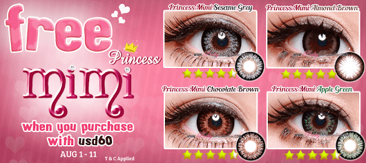 WOW! Free Princess Mimi With Purchase USD60