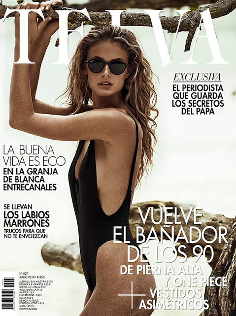 Fashion Model, @ Kate Bock - TELVA Magazine July 2016
