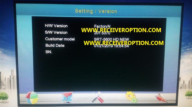 STAR TRACK SRT-5600NEW HD PLUS POWERVU KEY NEW SOFTWARE
