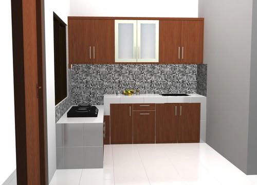 Kitchen Set Atas Kuat Menggantung Di Dinding Custom Furniture Semarang