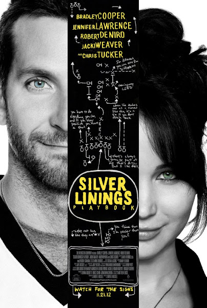 Poster Of Silver Linings Playbook 2012 720p BRRip Full Movie Download