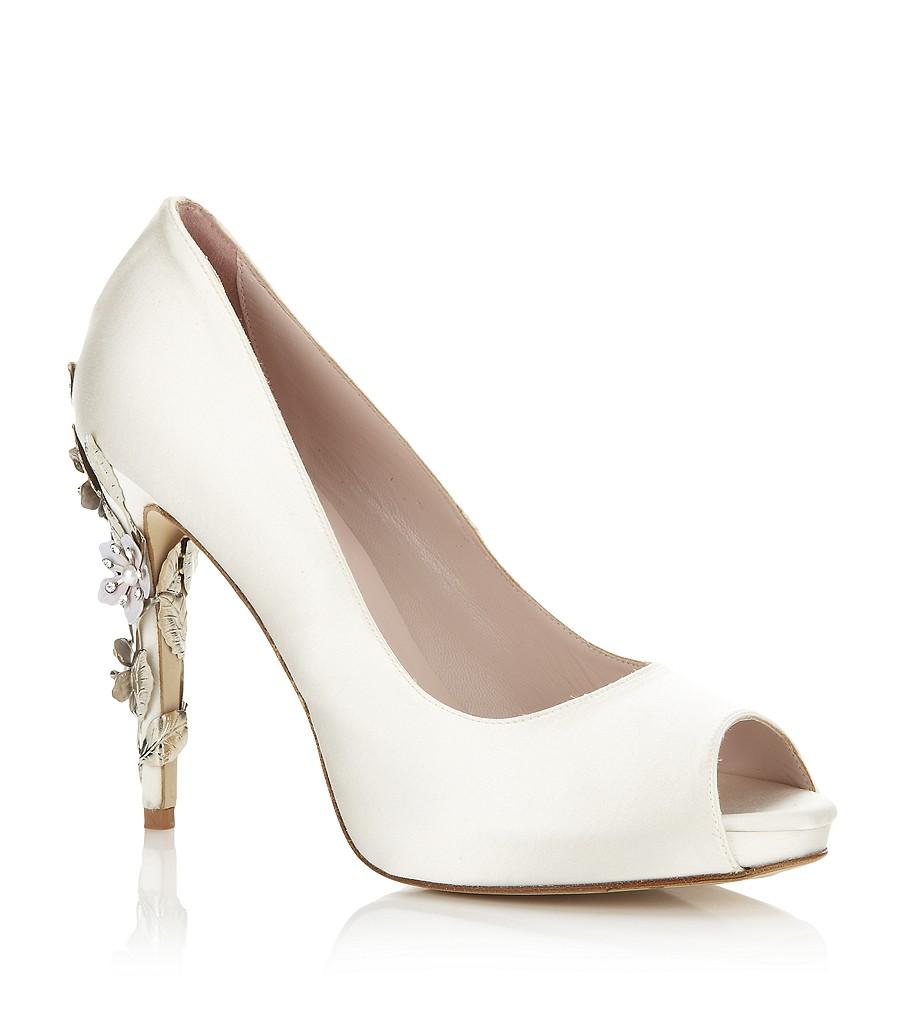 c02ed64371b54 Yağmurun Modası: Harrıet Wılde Tasarımlı Gelin Ayakkabıları/Bridal Shoes