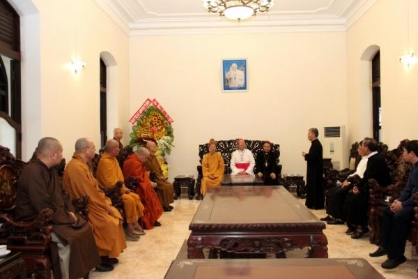 Thành hội Phật giáo chúc mừng Giáng sinh tới tổng giáo phận Sài gòn - Ảnh minh hoạ 4