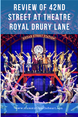 Review of the fabulous theatrical show - 42nd Street, as seen at Theatre Royal Drury Lane
