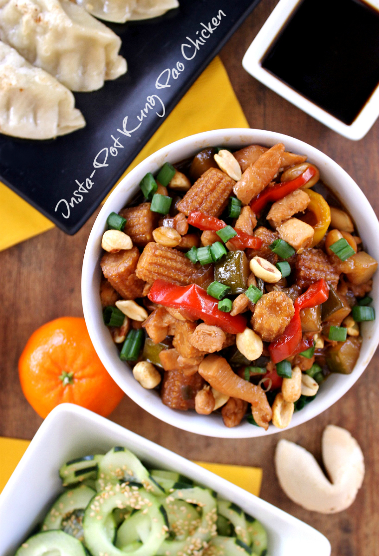 10 Minute Pressure Cooker/Insta-Pot Kung Pao Chicken Recipe for Chinese New Year #LingLingAsianFood. #IC #LL #AD