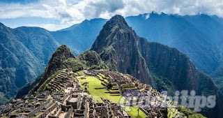 Machu Picchu, the ancient hidden city.