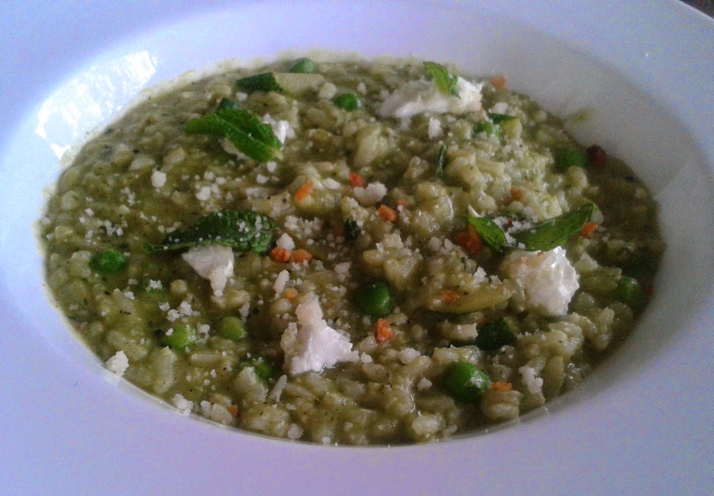 Foodaholix Olive Bistro Hyderabad monsoon green risotto