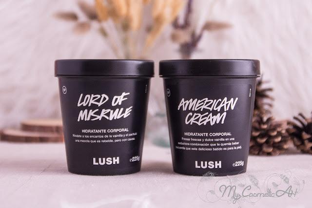Community Body Lotions de Lush: 10 lociones corporales con algunos de los aromas más característicos de Lush.