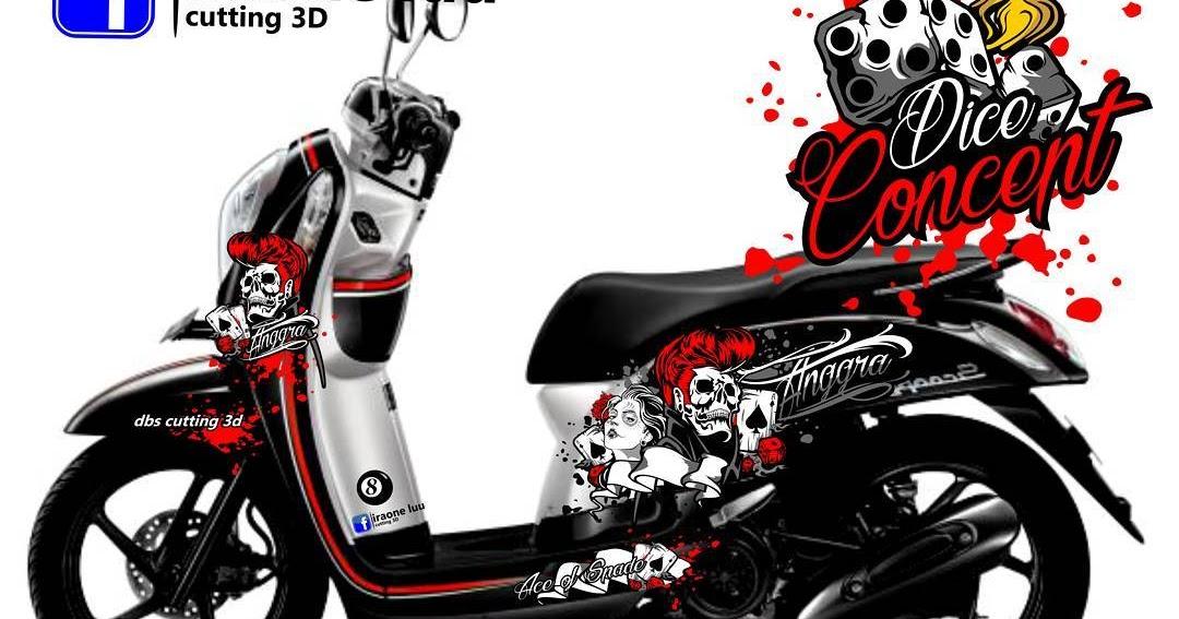 20 Cutting Motor Scoopy 2016 Trend Terbaru