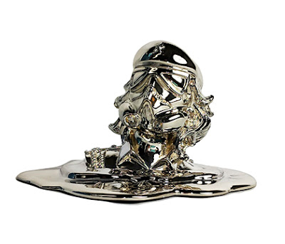 Melt Down CheTrooper Chrome Edition Resin Figure by Sket One x Urban Medium