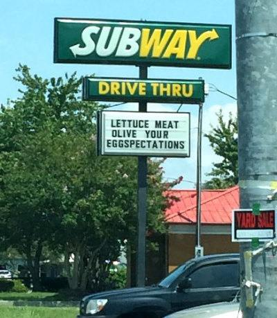 More Funny Signs -8