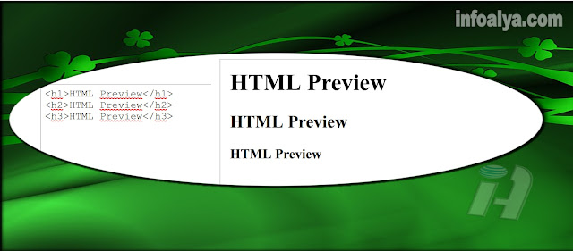HTML Preview Di Blog