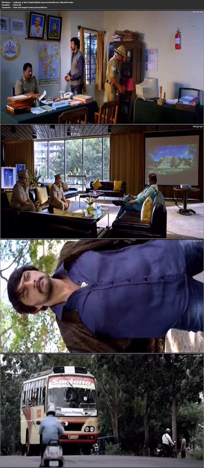 Golimaar 2 2017 Hindi Dubbed Download HDTV 720p at movies500.info