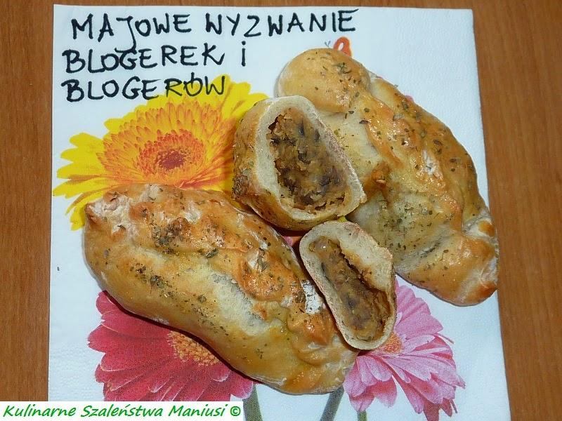 Majowe Wyzwanie Blogerek i Blogerów - paszteciki z soczewicą :-)