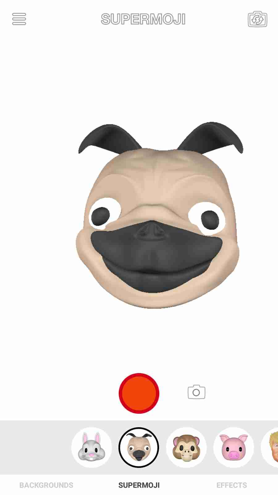 The Apple iPhone X Animoji Dog Emojis
