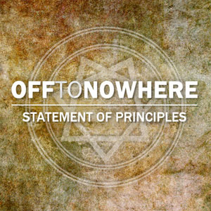<center>Off To Nowhere - Statement Of Principles EP (2013)</center>