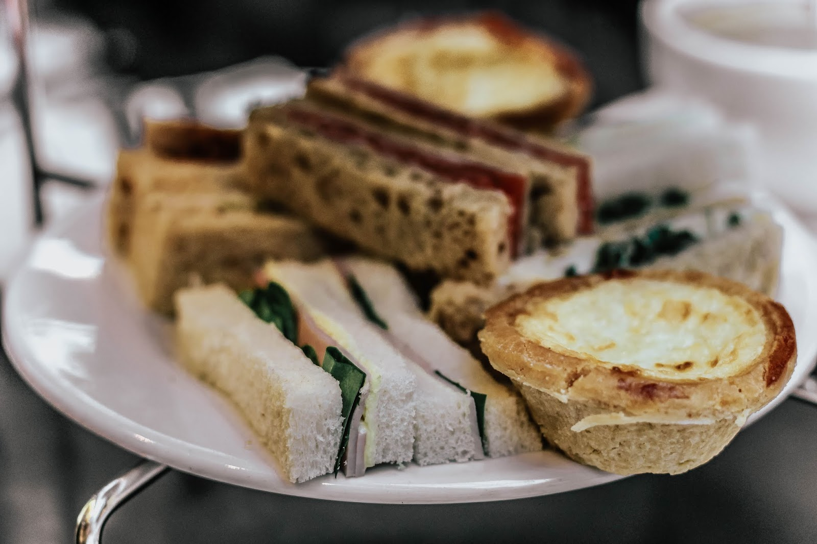 Patisserie Valerie Afternoon Tea Sandwiches