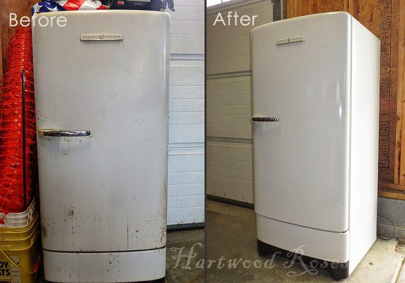 Restoring Our Vintage Ge Refrigerator