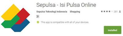 Aplikasi Pembayaran dan Beli Pulsa Online Android