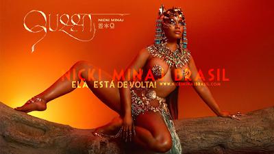 """ATUALIZADO! Ouça """"Queen"""" o quarto álbum de Nicki Minaj + Desempenho no primeiro dia de lançamento!"""