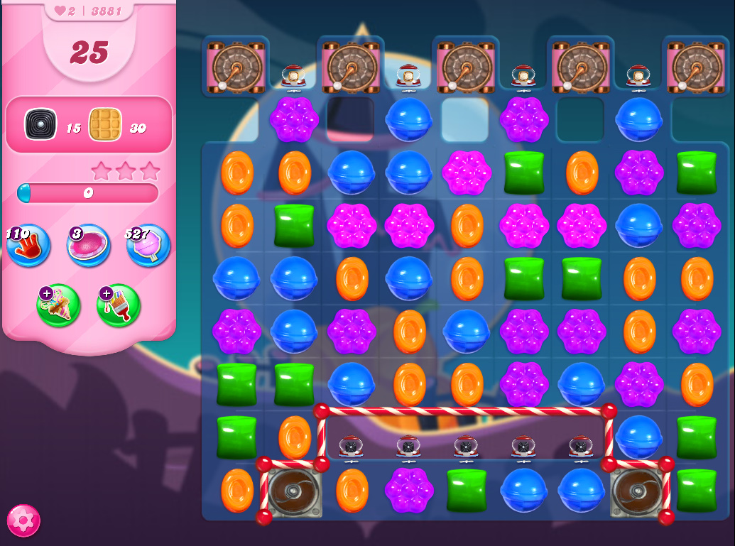 Candy Crush Saga level 3881