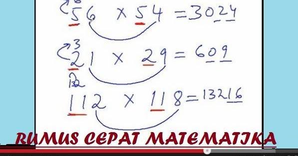 Rumus Cepat Matematika Smp Pdf