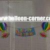 Bunting Banner HAPPY BIRTHDAY Motif Balon Udara