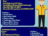 lowongan kerja DRIVER wellcomm point Semarang