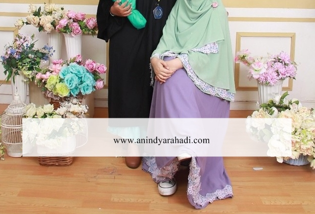 Anindyarhd S Review Lyra Virna Syari Aisyiah Set In Purple Mint