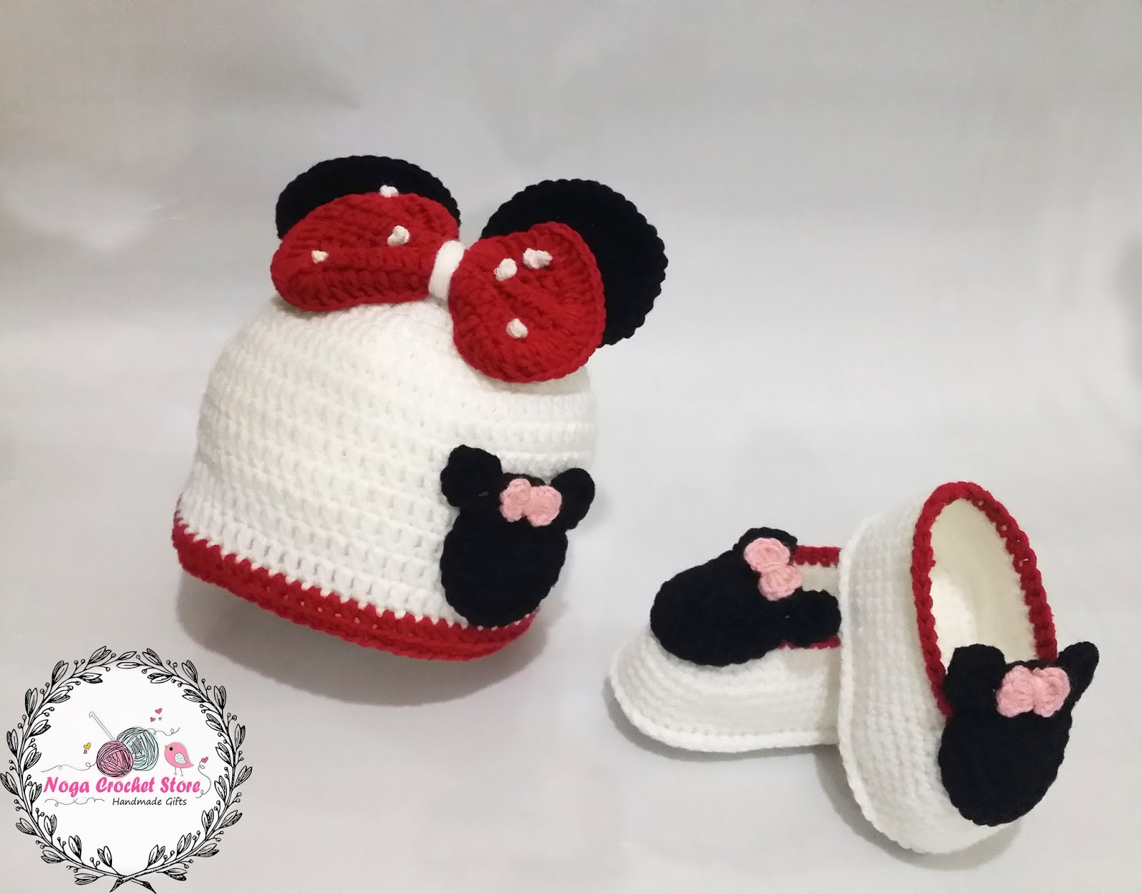 Mickey Minnie Mouse baby romper Giveaway