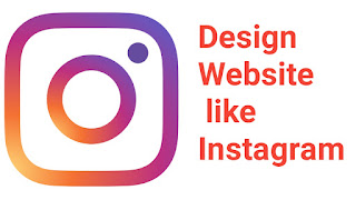 Instagram website design, Instagram HTML CSS PHP coading script for Instagram website design,