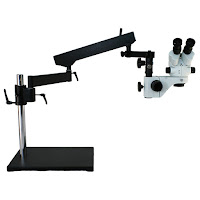 Microscope World Articulated Arm Stereo Zoom Microscope System