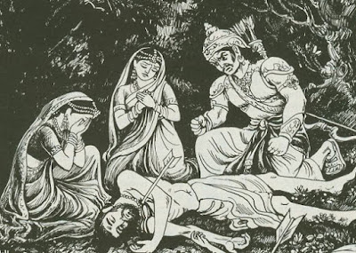 mahabharata  Pandu's wives and curse