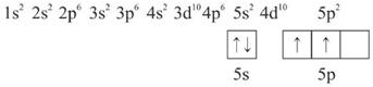 konfigurasi elektron SnCl2