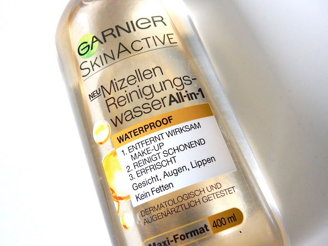 Garnier Mizellen Reinigungswasser All-in-1 Waterproof vorne