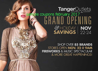 free Tanger Outlet coupons february 2017