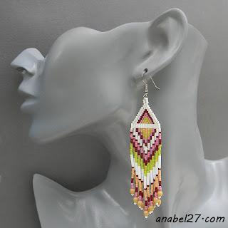 купить украшения из бисера в этническом стиле украина россия