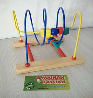 Mainan Edukasi Wire Game Natural