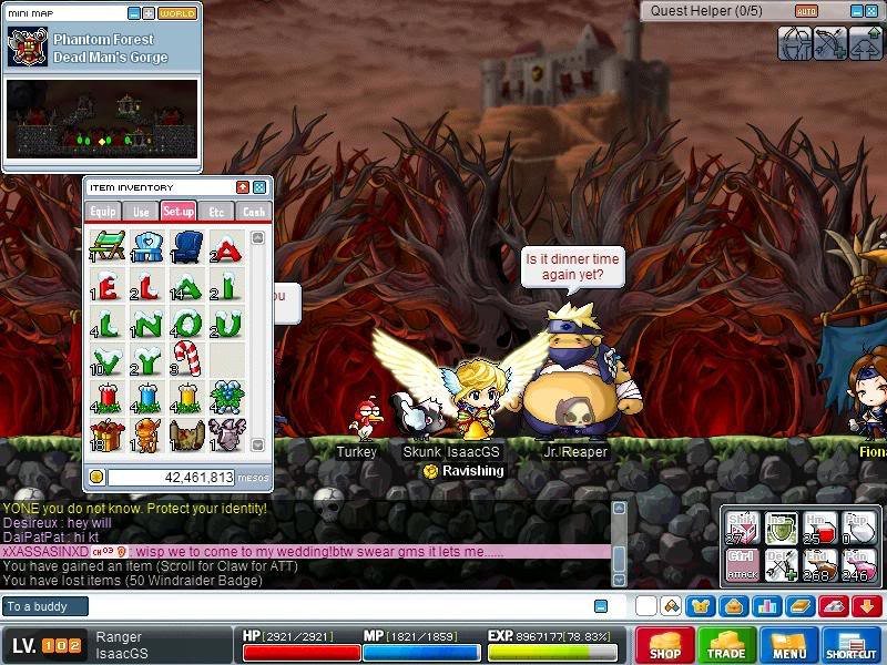 ♛ MapleSecrets - ☯ IMBA and CRAZY RICH MapleSEA Legend