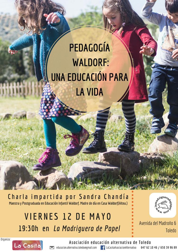 TOLEDO-LIBRERÍA-LA MADRIGUERA DE PAPEL-ACTIVIDADES-PEDAGOGÍA-WALDORF