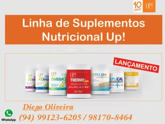 LINHA DE SUPLEMENTOS NUTRICIONAL UP ! -- 10 ANOS DE SUCESSO NO MERCADO