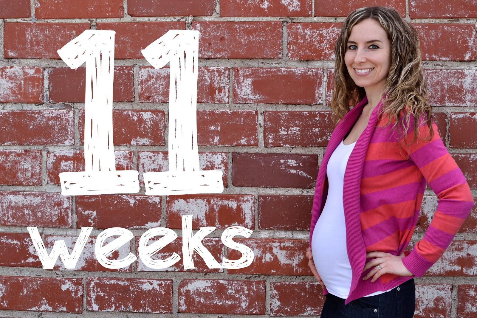 Ashley's Green Life: 11 Weeks
