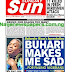 NIGERIA NEWSPAPERS: TODAY'S THE DAILY SUN NEWSPAPER HEADLINES [7TH JANUARY, 2018].