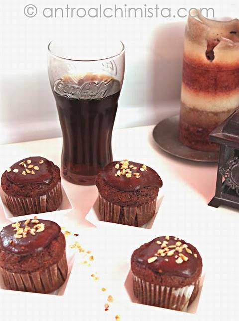 Muffins alla Coca Cola